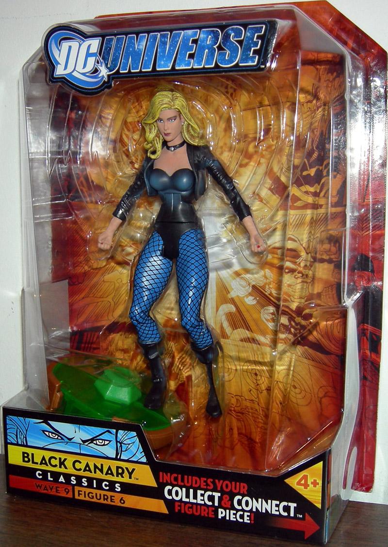 DC Universe Classics Wave 9 Justice League Black Canary Figure