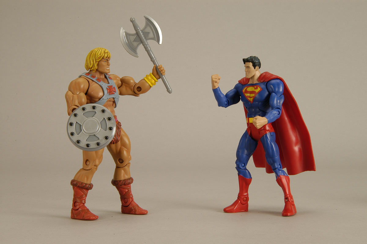 Batman Ytb Superman Vs He Man Dc Universe Classics Toys R Us Exclusives