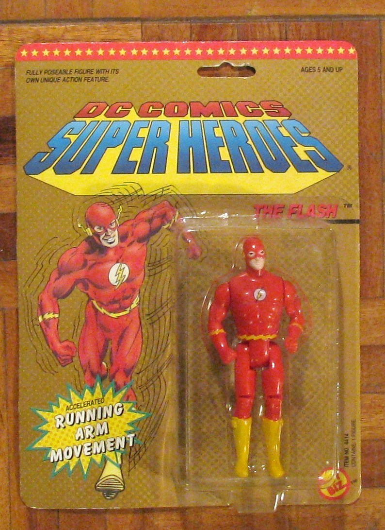 "Flash DC comics action figure 7/"" loose"