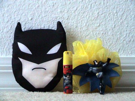 the batman bathroom kit - Batman Bathroom