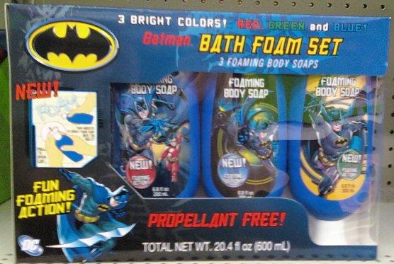 Batman Bath Set. Batman YTB   Fansite For Batman Comics  Toys  Figures  News and more