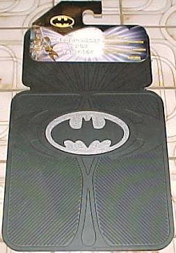 Silver Logo Floor Mats Plastisol 2000 Image Rear
